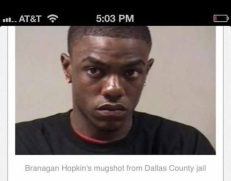 Multiple time convited felon Branagan Hopkins